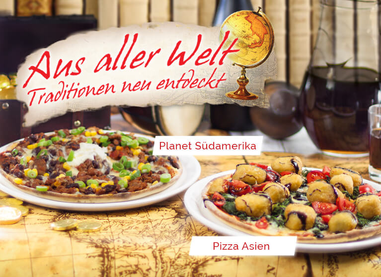 Pizza Planet Aktion Aus aller Welt