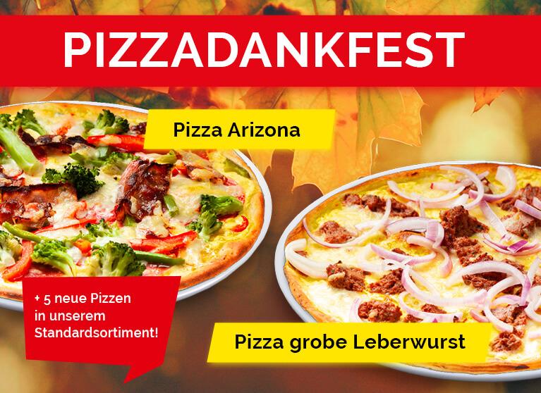 Pizza Planet Aktion Pizzadankfest