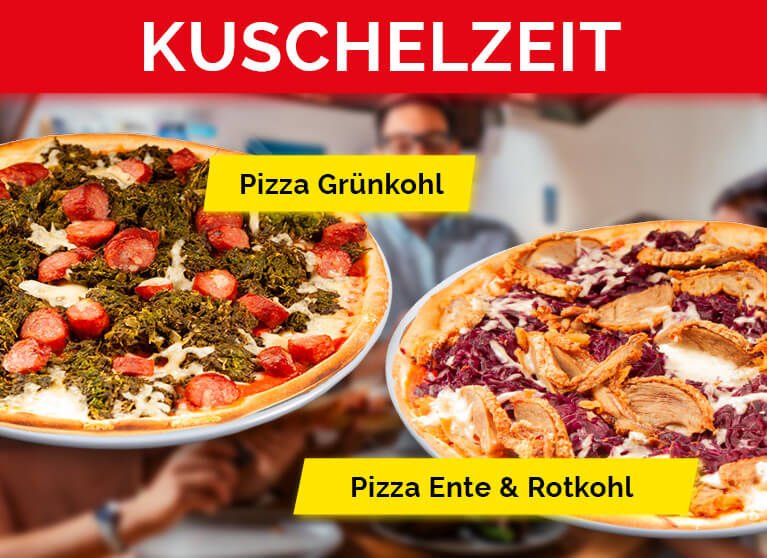 Pizza Planet Aktion Kuschelzeit