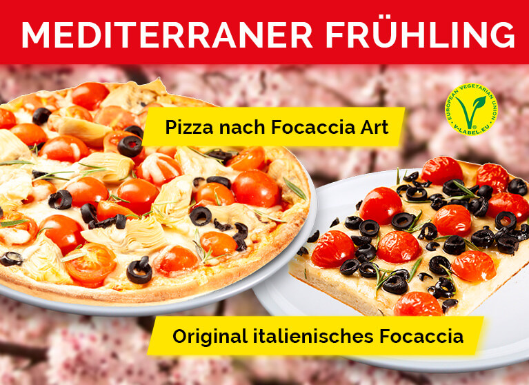 Pizza Planet Aktion Mediterraner Frühling