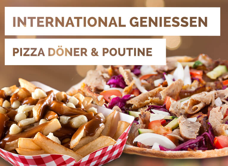 Dezember Aktion Pizza Planet Pizza Döner & Poutine