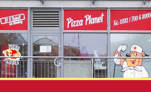 Pizza Planet Rostock Neueröffnung
