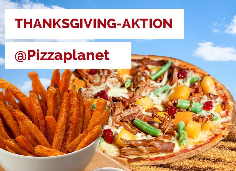 Pizza Planet Aktion Thanksgiving 2020
